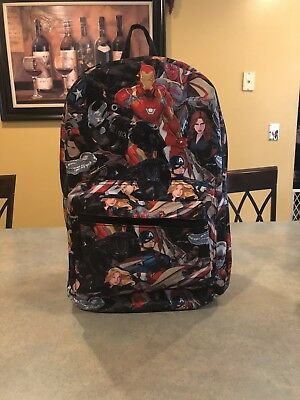 Marvel Civil War Backpack!!  Rare!! Avengers!!
