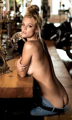 Nina Agdal Hot Pinup Model Girl Approx. 8 * 10 Inches High Quality Photo