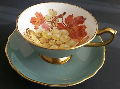 Stunning Hammersley Fruit and Nut Cup and Saucer