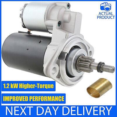 Vw Classic Beetle 12V 12 Volt Air-Cooled 1200 1300 1500 1600 1700 Starter Motor