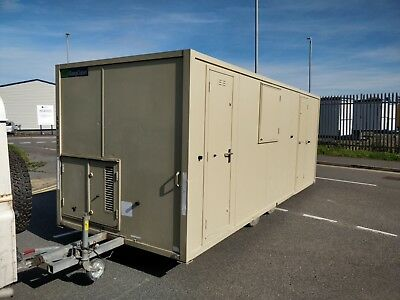 AJC 12 man 20ft towable welfare unit site office cabin toilet £10995+vat