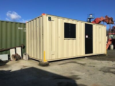 Genuine Groundhog 20ft static site welfare unit cabin canteen office £4500+vat