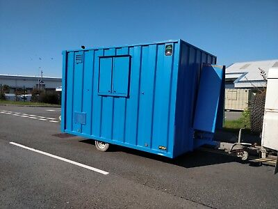 Groundhog GP360D towable site welfare unit cabin canteen office £5995+vat