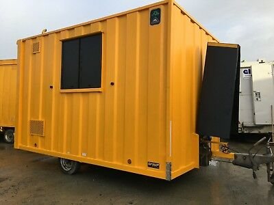 Groundhog GP360D towable site welfare unit cabin canteen office £6500+vat