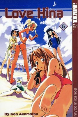 Love Hina GN (Tokyopop Digest) #5-1ST 2002 NM Stock Image