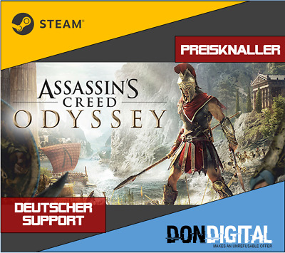 Assassin's Creed Odyssey [Steam Download] [Multi Global] [No Key/Code] [PC]