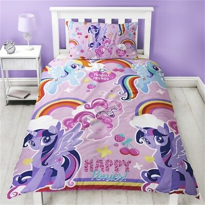 My Little Pony Crush Reversible Single Duvet