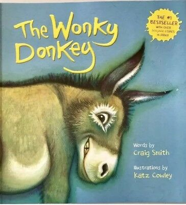 Rare The Wonkey Donkey Paperback Book NEW Buy It Now! Ships The Next Day!
