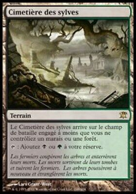 Cimetière des sylves - Woodland Cemetery - Innistrad - Magic mtg -