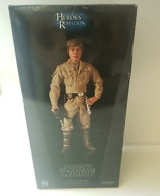 Sideshow Star Wars Luke Skywalker Bespin Exclusive Edition 1/6 Scale NEW Rare