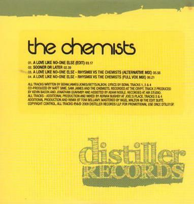 "Chemists CD single (CD5 / 5"") A Love Like No-One Else UK promo DTIL0159P"