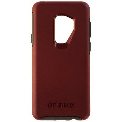 OtterBox Symmetry Series Case for Samsung Galaxy S9+ (Plus) - Dark Red / Gray
