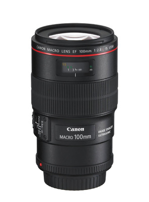 Canon EF 100mm f/2.8 L Macro IS USM Lens