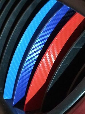 M Carbon Fiber Stripe Decal Sticker Race For BMW Exterior or Interior Decoration