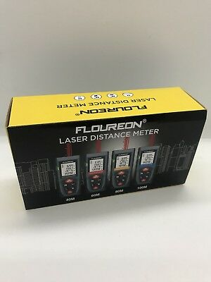 Floreon Laser Distance Meter 80m 80 Meters CHEAPEST ON EBAY ! NEW