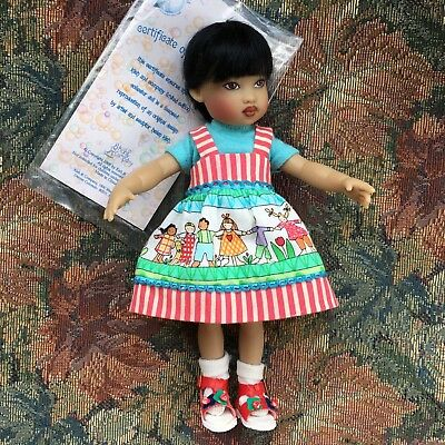 "Kish 7.5"" ZSU ZSE DOLL Riley's World Friend From The NIADA Convention LE"