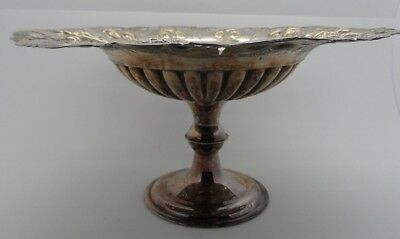 Victorian Silver Plated Fruit Bowl c-1880's  No Reserve