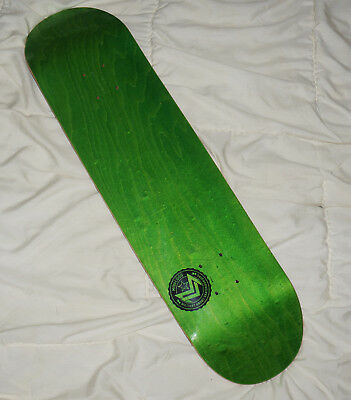 "neu MINI LOGO DECK 8.25"" CHEVRON STAMP 12 GREEN Skateboard Powell 7-Ply Maple"