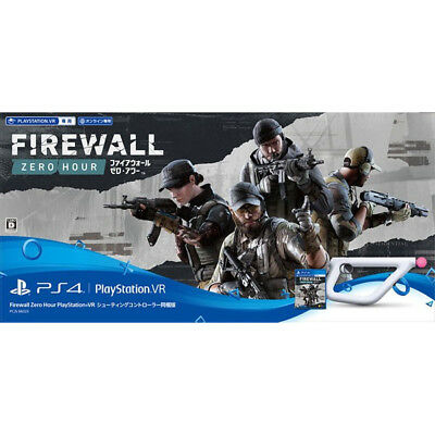 NEW PS4 VR Only Firewall Zero Hour w/ Shooting Controller JAPAN PlayStation 4