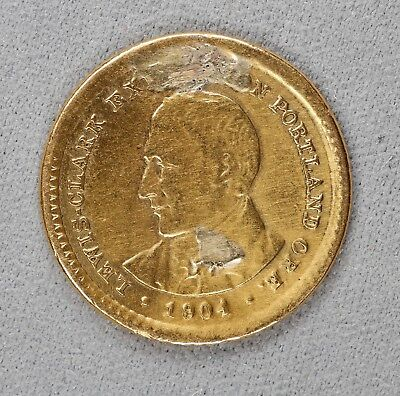1904 Lewis & Clark Gold Commemorative (7112)