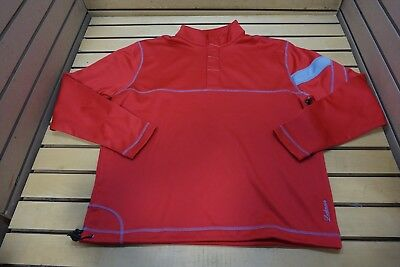 NEW Golf Ahead Extreme Pullover Mens Size Large Red/Carbon 97C