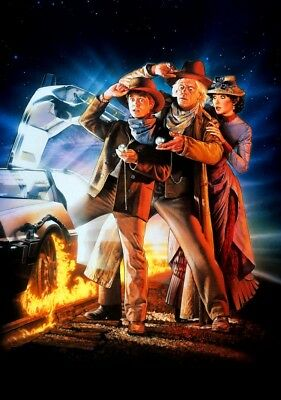 BACK TO THE FUTURE: PART III Movie PHOTO Print POSTER FIlm Robert Zemeckis 001