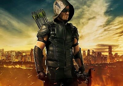 ARROW TV Show PHOTO Print POSTER Series Art Oliver Queen Green Stephen Amell 007