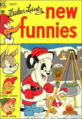 New Funnies (TV Funnies) #143 1949 GD/VG 3.0 Stock Image Low Grade