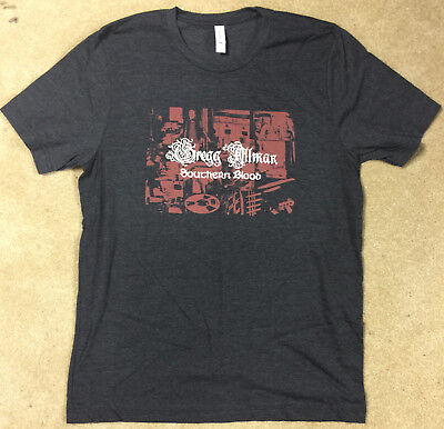 Greg Allman Southern Blood T-Shirt New Size X-Large Official Promo