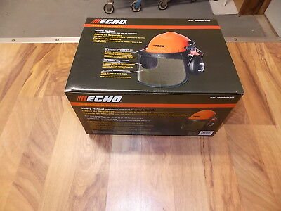 Echo 99988801510 Professional chainsaw safety Helmet with ear muffs protective