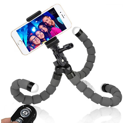 Phone Tripod Iphone Flexible for Camera Stand Holder Wireless Remote US Shipping