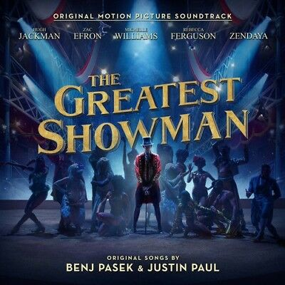The Greatest Showman Original Motion Picture Soundtrack (CD, 2017) NEW