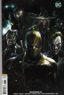 Deathstroke #36 Mattina Variant Cover Cover B Near Mint Condition HOT