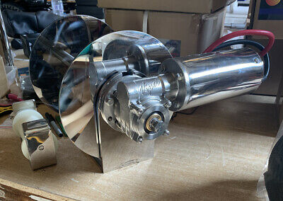 """Viper Anchor Winch Pro Series """"ALL STAINLESS"""" S 1000 250mm Drum"""