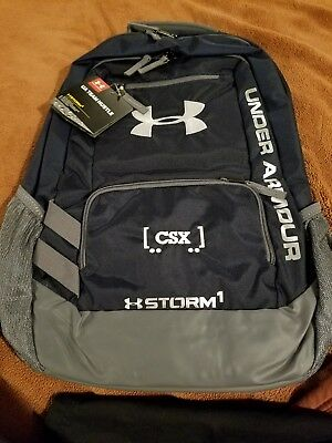 Csx transportation Under Armor Storm Backpack. NEW