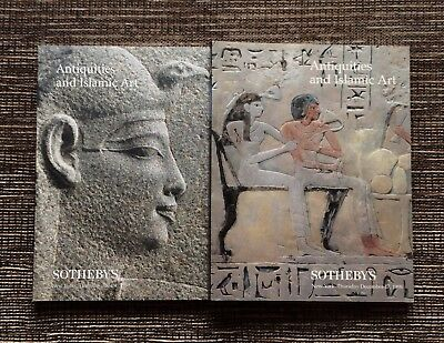 RARE 2-LOT 1998 Sotheby's Auction Catalog: Antiquities and Islamic Art