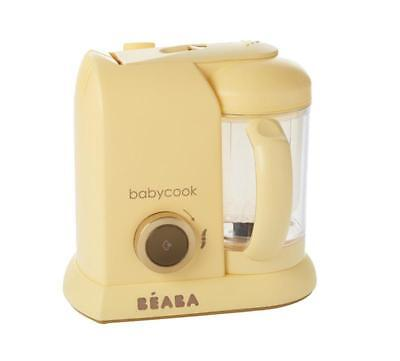 Beaba  Babycook Solo Yellow GOLD  4-in-1 food processor | Calculated Shipping