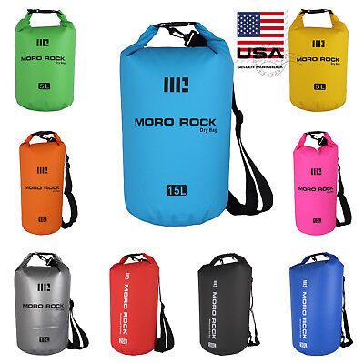 Mororock 2L 5L 10L 15L 20L 30L PVC Kayak Fishing Camping Waterproof Dry Bag