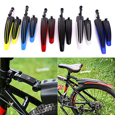 Front/Rear Mud Guards Mudguard Fenders For Mountain Bicycle Bike Cycling Quality