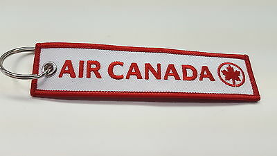 Air Canada  Remove Before Flight  Key Chain / Tag. Old Style -Now Discontinued