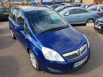 Vauxhall Zafira 1.6 16v Exclusive 105ps 7 Seater MPV, Service History & Receipts