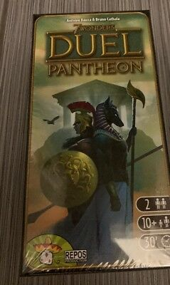 New 7 Wonders: Duel Pantheon Expansion Board Game Repos Sealed