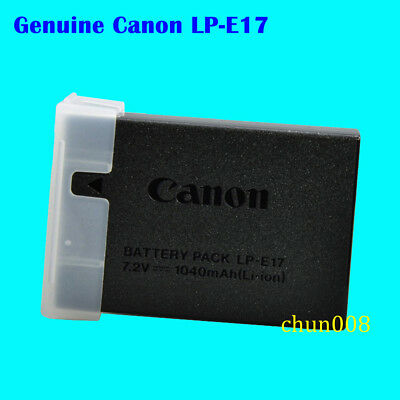 Genuine LP-E17 Battery For Canon EOS 750D 760D M3 Rebel T6i T6S X8i LC-E17