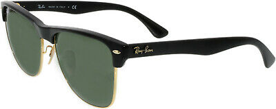 a6f89fbfb72 Ray-Ban Men s Clubmaster Oversized RB4175-877-57 Black Square Sunglasses