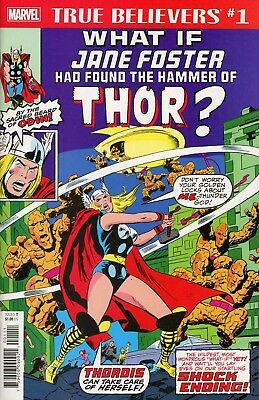 True Believers What If Jane Foster Found Hammer Of Thor #1 Marvel Comics Nm