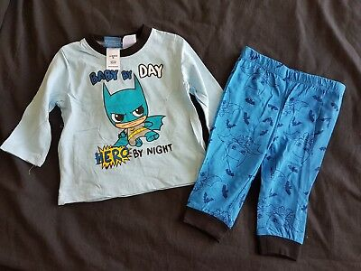 Boys new BATMAN pj set size 00