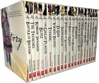 My Story Diary Series Collection 20 Books Set Children History Battle of Britan