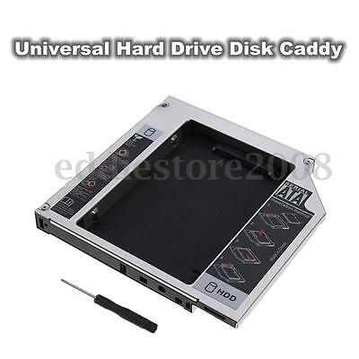 SATA to IDE 2nd HDD Hard Drive Caddy For 12.7mm Universal CD DVD-ROM Optical Bay