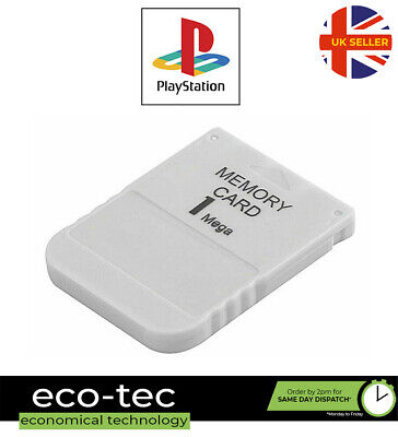 1MB Memory Card For Sony Playstation 1 PS1 PSX ONE 15 Block