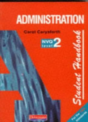 Administration: Student Handbook NVQ Level 2 (NVQ Administration Levels 1-3),Ms